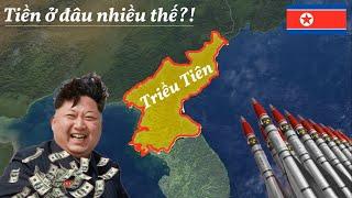 Tại sao Triều Tiên bị Cấm Vận, vẫn có Tiền chế tạo Vũ khí hạt nhân?