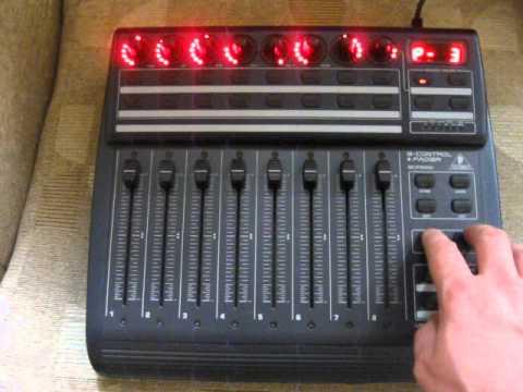 Behringer BCF2000 MIDI Controller Driver (2019)
