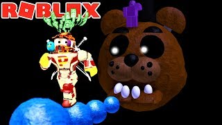 ESCAPE GIANT FREDDY IN FIVE NIGHTS AT FREDDY'S OBBY!! | The Weird Side of Roblox: FNaF Obby