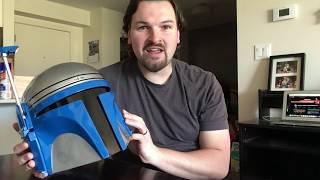 Cyber Craft Jango Fett Helmet Review - Senpaigarr