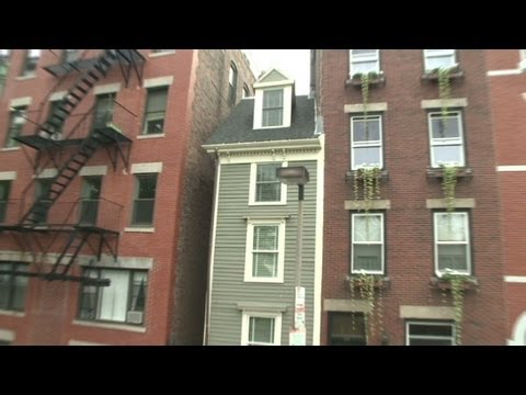 The skinny on Boston's narrowest home