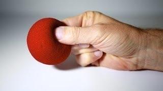 impresionante truco de magia con pelotas de esponja revelado sponge ball vanish revelaed