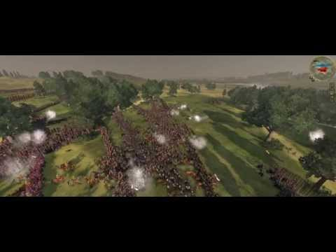 Empire Total War Colonialism 1600AD Swedish VS Poland 10000