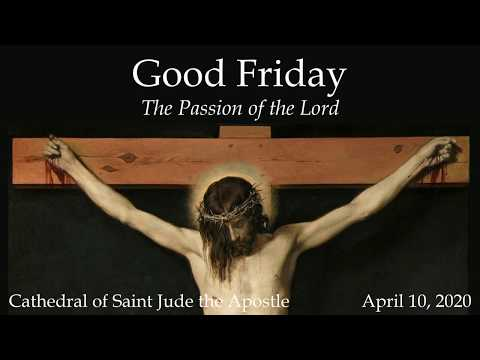 Good Friday Passion Of The Lord