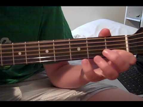 Justin Nozuka- Save Him acoustic guitar lesson