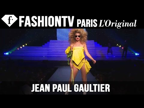 Gaultier's Last-Ever Ready-to-Wear Collection| Spring 2015 F