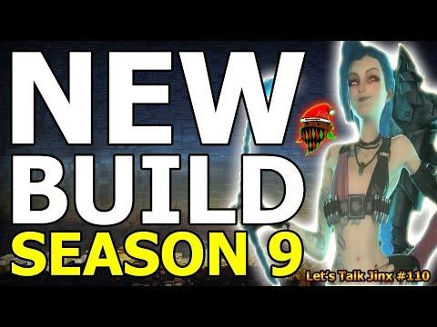 New In Season 9 Crit Item ADC Build? | Let's Talk Jinx #110 (League Of Legends)