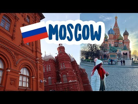 🇷🇺 MOSCOW, RUSSIA | Red Square, St. Basil's Cathedral, Kremlin, Vodka Museum, Metro Tour TRAVEL VLOG
