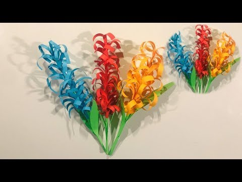 DIY: How to make beautiful Paper Flowers - (Crafts Work DIY) Easy Craft DIY For Making Step By Step