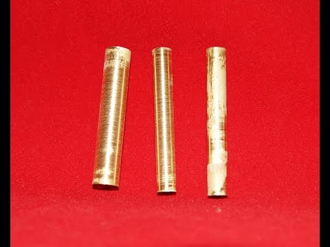 Recycle And Re-use Brass Pen Tubes #19