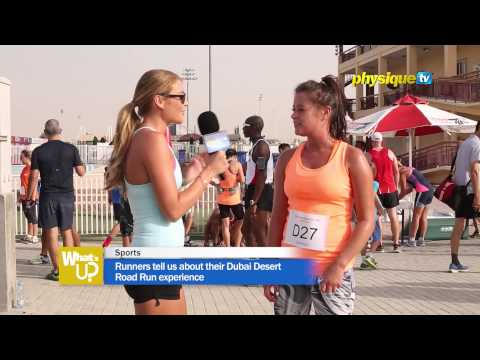 Runners tell us about their Dubai Desert Road Run experience