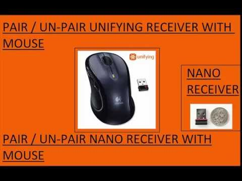 How to PAIR-UNPAIR NANO/UNIFY RECEIVER WITH LOGITECH MOUSE [FIX]