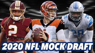 2020 NFL MOCK DRAFT (1st Round)