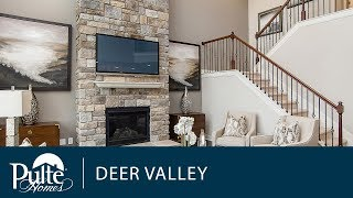 New Homes In Indianapolis | New Home Design | Two Story Home | Deer Valley | Pulte Homes