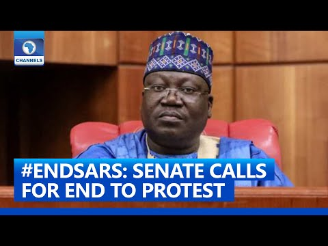 #EndSARS: Senate President Ahmed Lawan Calls For End To Protests