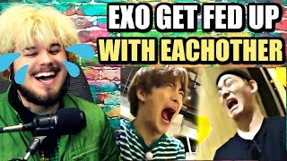 Cover images when EXO get fed up with each other | I BET YOU WILL LAUGH! | REACTION!!
