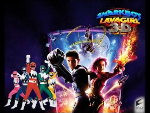 The Adventures Of Sharkboy And Lavagirl (Power Rangers Lost Galaxy Style)