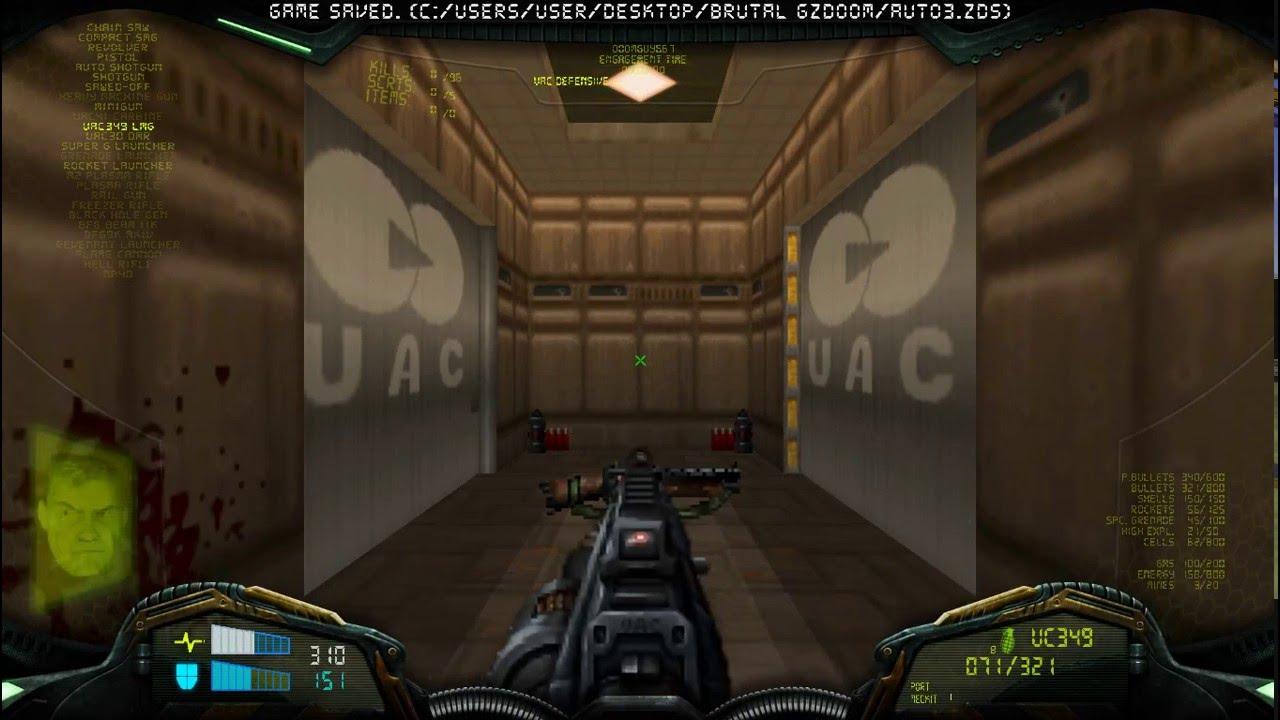 Brutal Doom Project Brutality + Real World wad (Part 1)