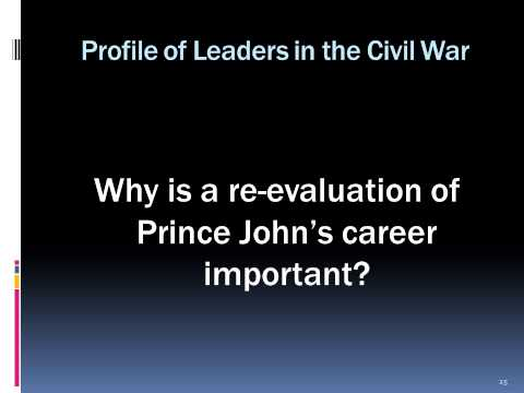 Profiles of leaders in the civil war: Maj. Gen. John Bankhead Magruder