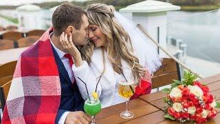 Свадьба Артур и Ксения. Аэросъемка Гомель 2016
