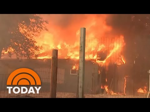 Mendocino Complex Fire Now Largest In California History   TODAY