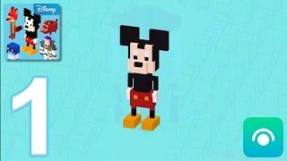 Disney Crossy Road - Gameplay Walkthrough Part 1 (iOS, Android)