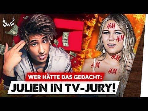 WTF: Julien Bam in TV-JURY • Uncool: Dagi wirbt für H&M  WWW