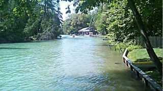 Alanson riverfest boat races