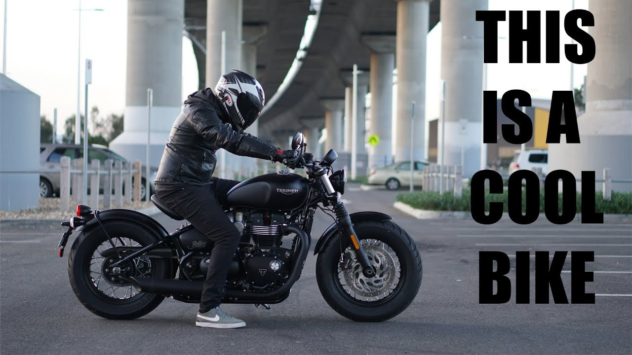 The New Triumph Bobber Black is bloody cool