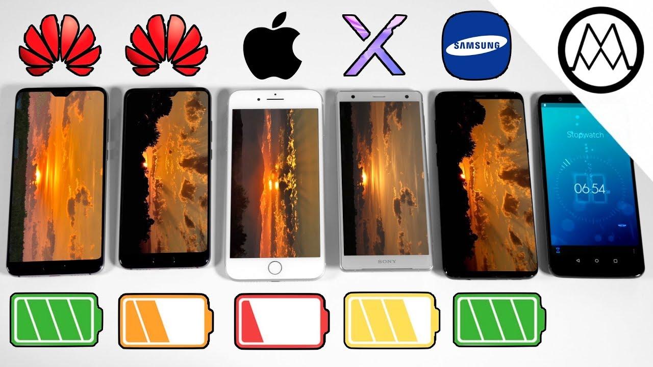 huawei p20 vs p20 pro vs iphone 8 plus vs s9 battery drain. Black Bedroom Furniture Sets. Home Design Ideas