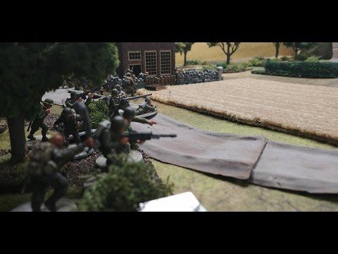 Bolt Action #101 United States 82nd airborne vs Germans