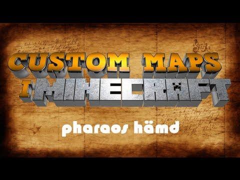 Minecraft: Custom map - pharaos hämd (svenska)