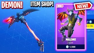 DEMON SKIN! Fortnite Item Shop! Daily & Featured Items! (January 26TH/27TH 2019)