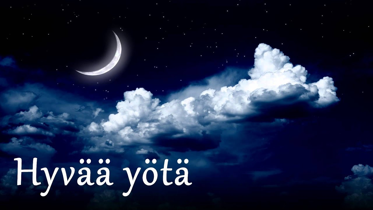 Hyvää Yötä Kuvina