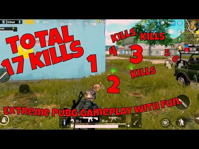 Indian Player Play Solo vs Squad in PUBG | INSANE 17 Kills in just 9 Minutes | Insane PUBG GamePaly