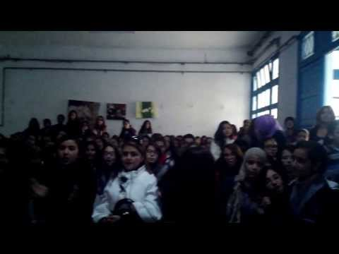 karaoke songs during english open day ( pioneer prep of sousse tunisia)