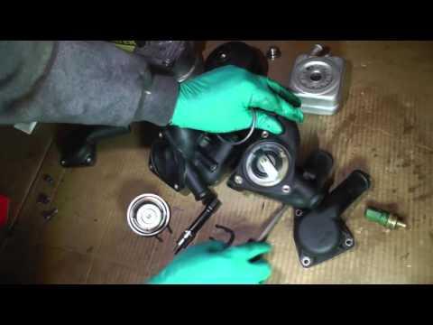 Volkswagen Jetta VR6, Prep of Coolant Parts - Part 4