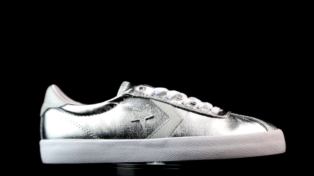 5185132edb02 Converse Breakpoint Pure Silver. - YouTube