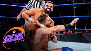 The Singh Brothers vs. Justin Alexander & Justin Morris: WWE 205 Live