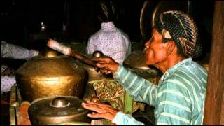 The gamelan is a musical ensemble from indonesia, typically islands of bali or java, featuring variety instruments such as metallophones, xylop...