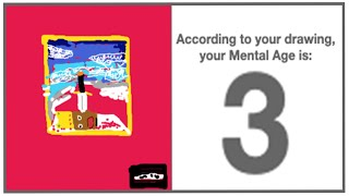 According To Your Drawing Your Mental Age Is Finding My Mental Age Through A Drawing Youtube youtube