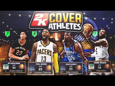 NBA 2K15-2K18 COVER ATHLETES AT THE PARK! 🔥 MOST OVERPOWERED SQUAD ON EARTH! NBA 2K17