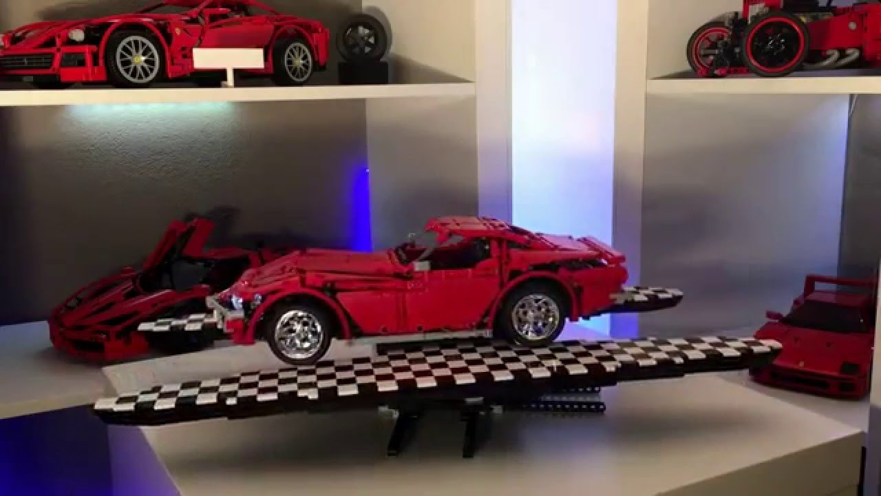 Lego Technic Chevrolet Corvette C3 Stingray Youtube