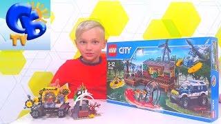 Констуктор Лего Сити 60068 Вертолет Джип Лодка Constructor Lego City 60068 Helicopter Boat Jeep