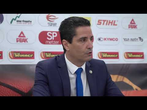 Coach Giannis Sfairopoulos after 1/4 final game 2