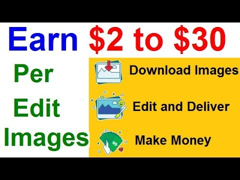 Earn $2 To $30 Per Edit Photos | Make Money By Editing Photos Online | No Registration Fees. Hindi
