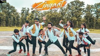 Zingaat Hindi | Dhadak | Ajay Atul | Original Choreography | By Rahul Dance Academy