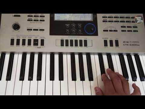 Ek Tu Hi Bharosa | Lata Mangeshkar | Instrumental On Keyboard