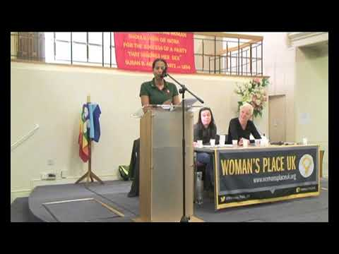 A Woman's Place is Taking a Stand (27th February 2018) Lucy Masoud