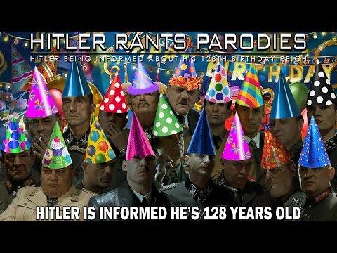 Hitler is informed he's 128 years old